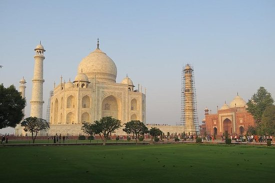 Same Day Taj Mahal Tour by car from...