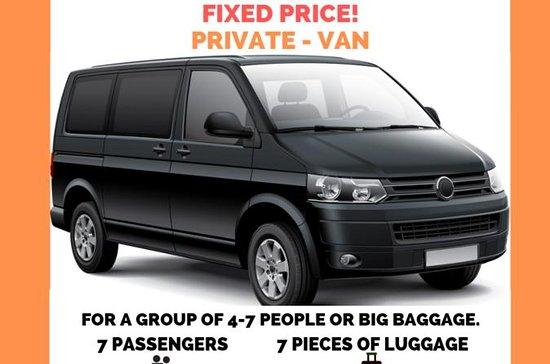 Privat Transfer 7PAX Van fra...
