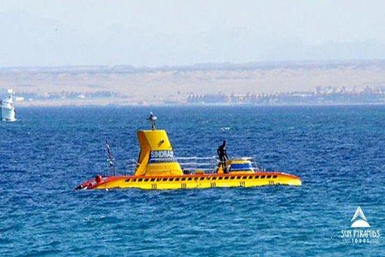 Semi submarino viagem em Sharm El...