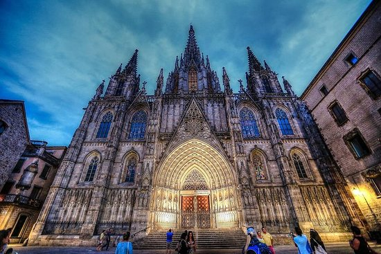 Gotische wijk van Barcelona ...