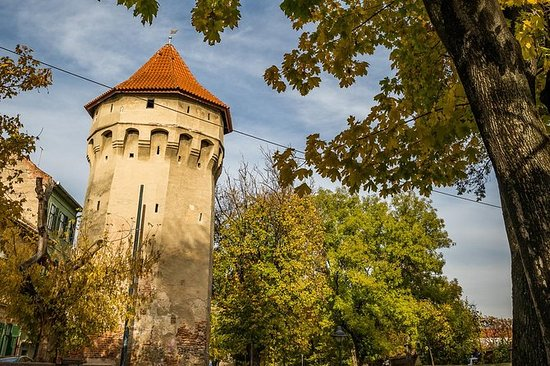 The 7 Towers of Sibiu - City...