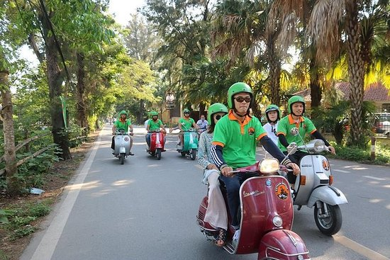 Tour della città di Ho Chi Minh Vespa