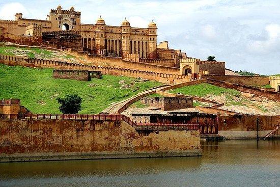 Samme dag Delhi til Jaipur tur med...