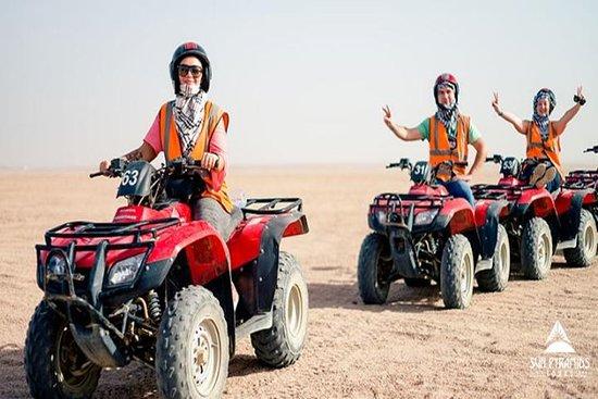 Morning Quad Bike Desert Safari in...