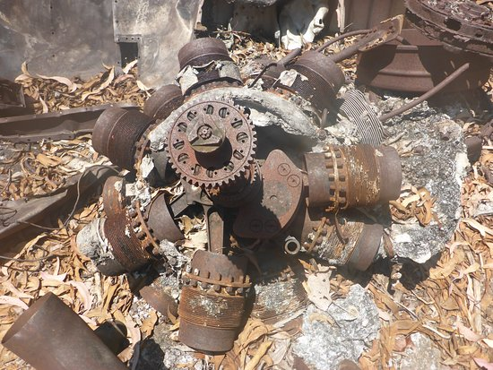 Mandorah, Australia: An Old Pratt & Whitney Radial Motor