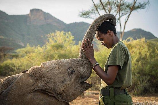 Samburu National Reserve, Kenya: Reteti is an Elephant Sanctuary helping orphaned and abandoned elephants in Northern Kenya. The one and only @amivitale 📷 #MagicalKenya #TembeaKenya