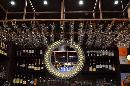 Солнце ГОГОЛЬ-Моголя над баром.