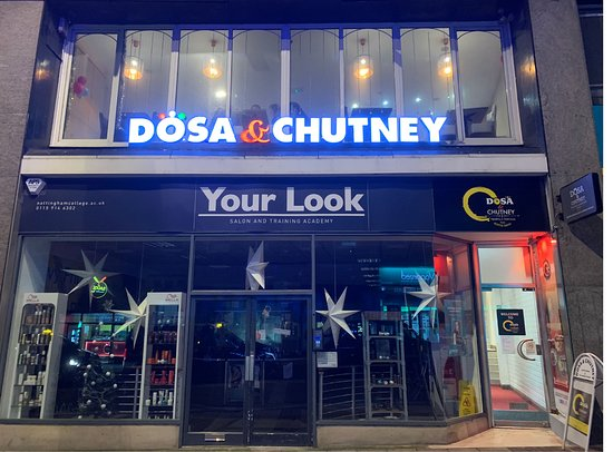 Dosa & Chutney located at Wheeler gate, Heart of the Nottingham City Centre. Car Parking available at Spaniel Row.
