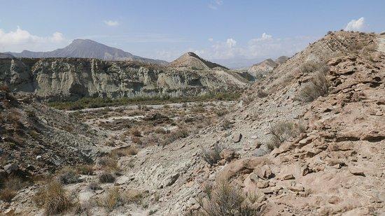 Province of Almeria, Spanien: altra vista sul deserto