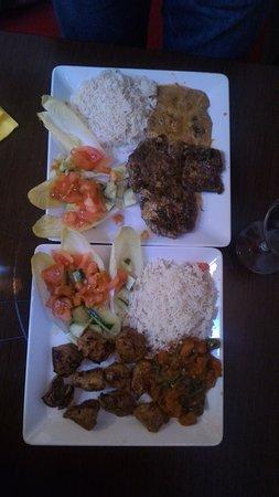 Cachan, Γαλλία: plats : boeuf et agneau ....GREAT
