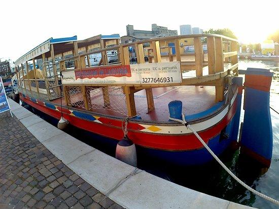 Acquamarina - Navigare per Chioggia