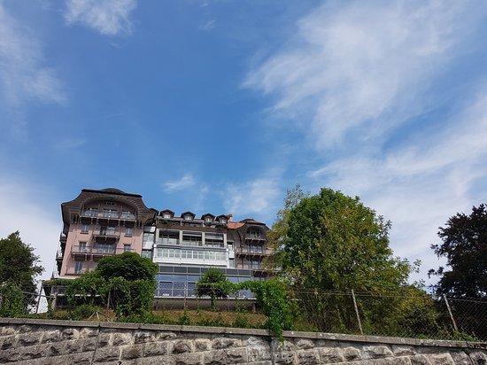 Hotel Prealpina: Hotel Préalpina in Chexbres im Weingebiet Lavaux