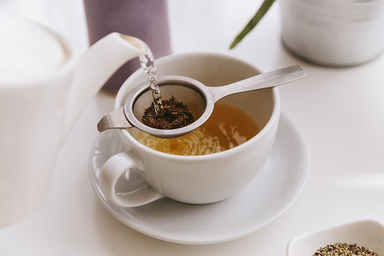 The Factory Kitchen: We serve a selection of specialty teas