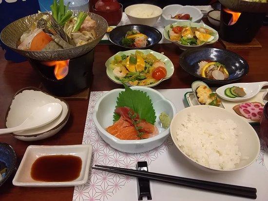 Shirako-machi, اليابان: 夕食