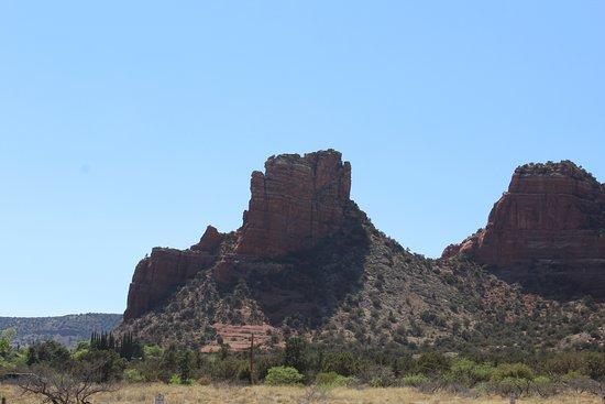 סדונה, אריזונה: view from road