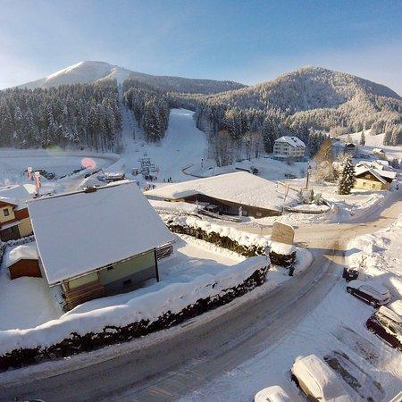 Lackenhof am Ötscher, Österreich: azert neha sut a nap is😃