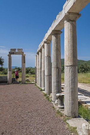 Messenia Region, Grécia: Unlike visiting the heavily crowded Acropolis of Athens, we had Messene all to ourselves. Dating back to the 8th and 9th century BC, the region of Messenia is as ancient as it gets.