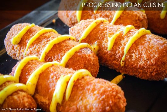 Burdwan, الهند: Cheese Centered Corn Croquettes