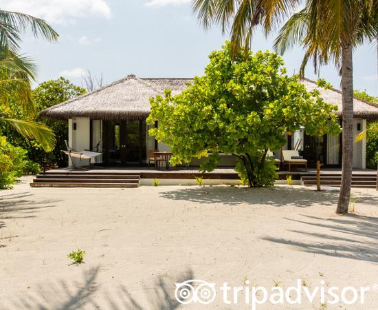 The One Bedroom Beach Villa at the Noku Maldives