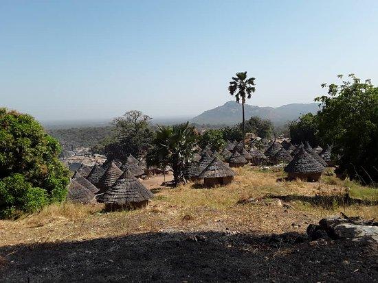 Kedougou, סנגל: Bedick village couché de soleil jardin de Nebeday Moringa Oliefera