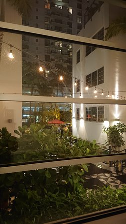 Sweet hotel in South Beach