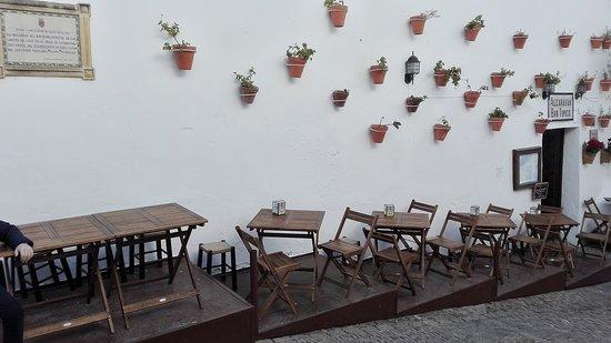 Restaurant Alcaravan In Arcos De La Frontera In Spain
