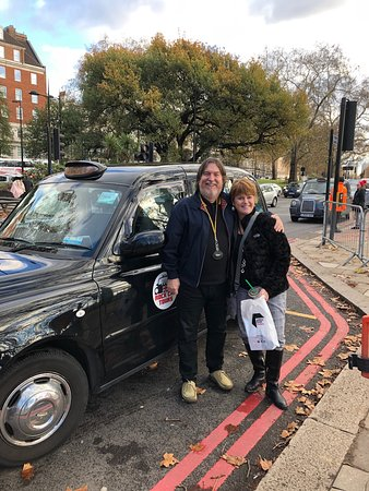 Rock Cab Tours Presents: The Music Legends Tour of London: Stephen, Wendy and the Rock Cab Taxi