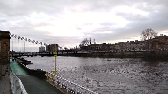 South Portland Street Suspension Bridge