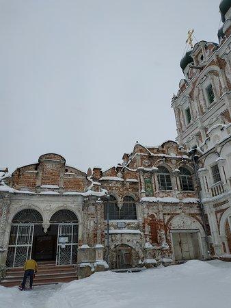 Solvychegodsk, Rusia: Лестница в храм