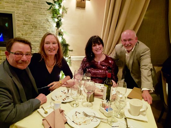 Andover, Nueva Jersey: New Year's Eve Dinner with friends.