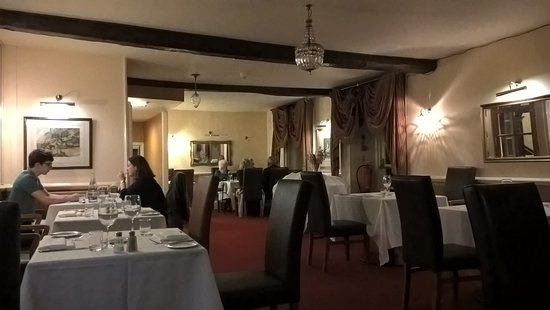 Bentleys Restaurant at the Haycock Hotel, Wansford