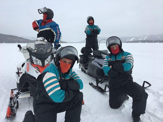 Saint-Donat-de-Montcalm, Kanada: La fine équipe!