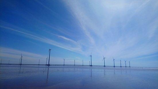 Nhà Máy Điện Gió Bạc Liêu: Stunning view