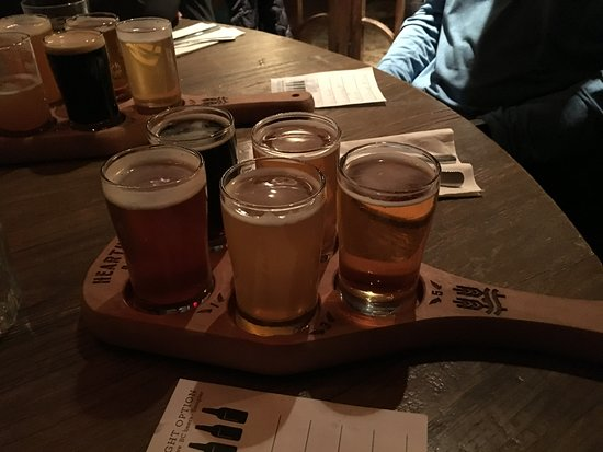 Pizzeria Antico : Beer flight