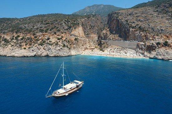 Excursión en barco privado a la playa...