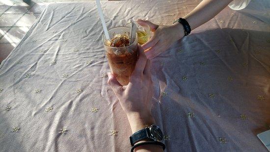 Bac Lieu, Vietnam: Ice-milk coffee & sugar tea.