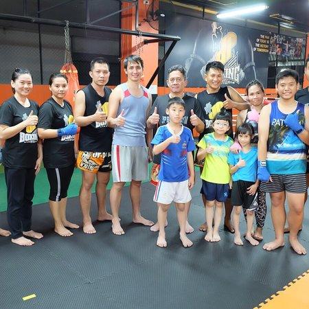 Phitsanulok, Thaïlande : JP Boxing Gym