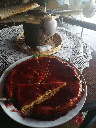 Priero, Włochy: La Cheesecake ai frutti di bosco di Fioraldo