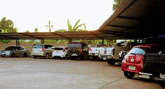 The Resto: Car park.