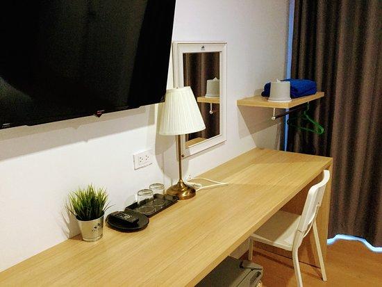 The Resto: Studio with Balcony Room.