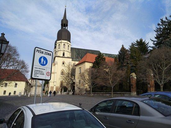 Trnava, Slovensko: Церковь кларисок, Трнава