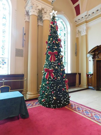Another Christmas tree in one of the function rooms