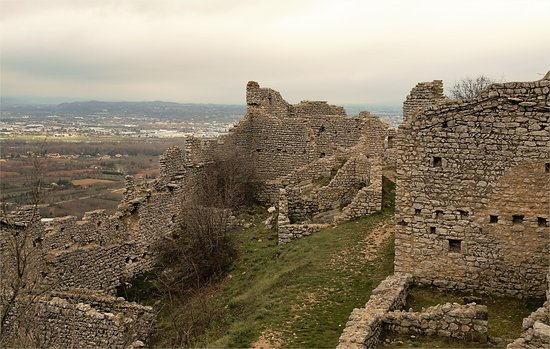 Boffres, France: Château de Crussol