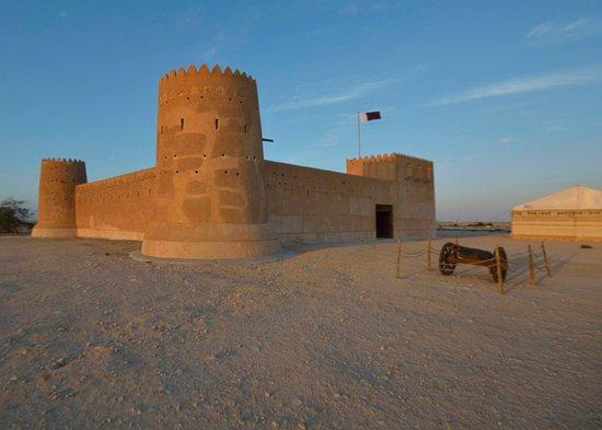 Madinat Ash Shamal, Qatar: Outside view of the fort.