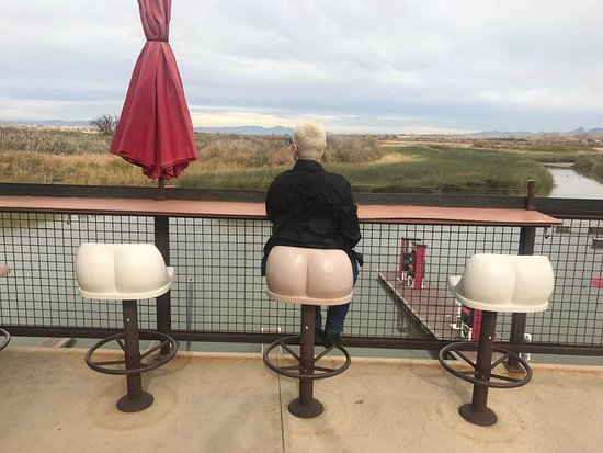 Topock, AZ: Great barstools