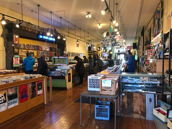 Great record store in Lawrence