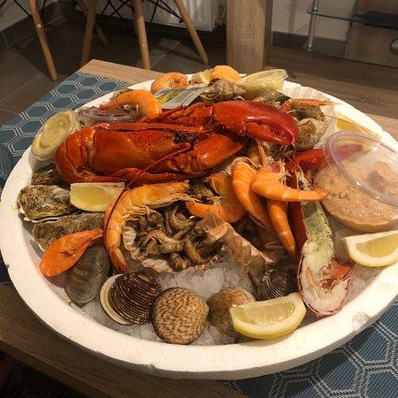 Le comptoir des mers parigi saint gervais ristorante - Le comptoir des mers paris ...