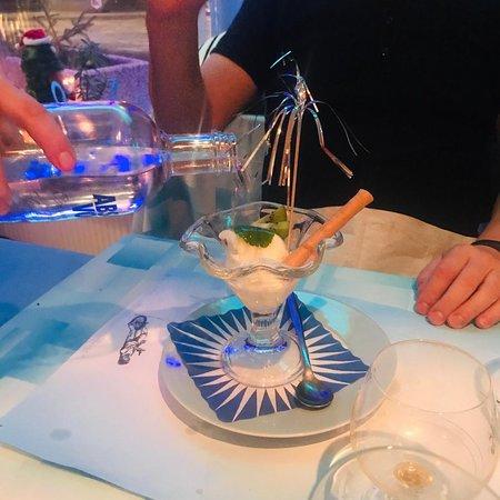 Parrilla Argentina : Dessert sorbet citron vodka