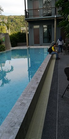 Nice hostel with pool