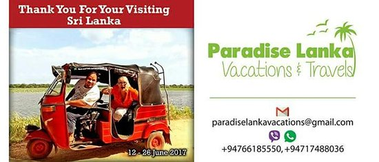 Paradise Lanka Vacations & Travels